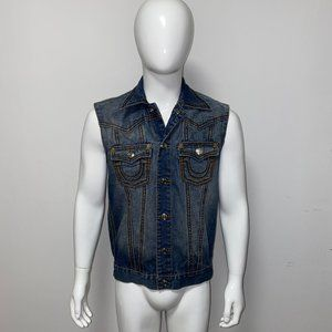 TRUE RELIGION Jeans Vest